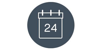 24 Tage Freude im Adventskalender
