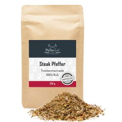Pfefferdieb® - Steak Pfeffer - BBQ Rub, 250g