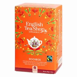 English Tea Shop - Rooibos, BIO Fairtrade, 20 Teebeutel