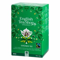 English Tea Shop - Grüner Tee, BIO Fairtrade, 20 Teebeutel