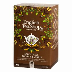 English Tea Shop - Schokolade Rooibos & Vanille, BIO, 20 Teebeutel