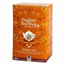English Tea Shop - Intense Chai, BIO, 20 Teebeutel
