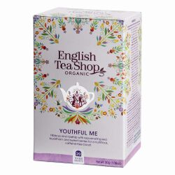 English Tea Shop - Youthful Me, BIO Wellness-Tee, 20 Teebeutel