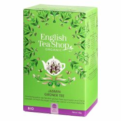 English Tea Shop - Jasmin Grüner Tee , BIO, 20 Teebeutel