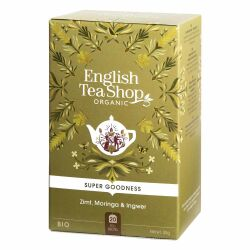 English Tea Shop - Moringa, Zimt & Ingwer, BIO, 20 Teebeutel