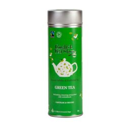English Tea Shop - Grüner Tee, BIO Fairtrade, 15 Pyramiden-Beutel in Dose
