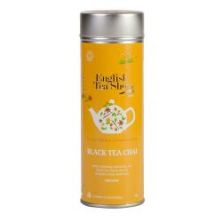 English Tea Shop - Black Tea Chai, BIO, 15 Pyramiden-Beutel in Dose