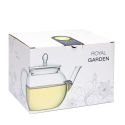 Teekanne royal garden aus Glas, 700ml