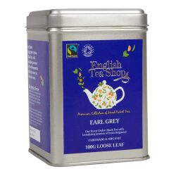 English Tea Shop - Earl Grey, BIO Fairtrade, Loser Tee, 100g Dose