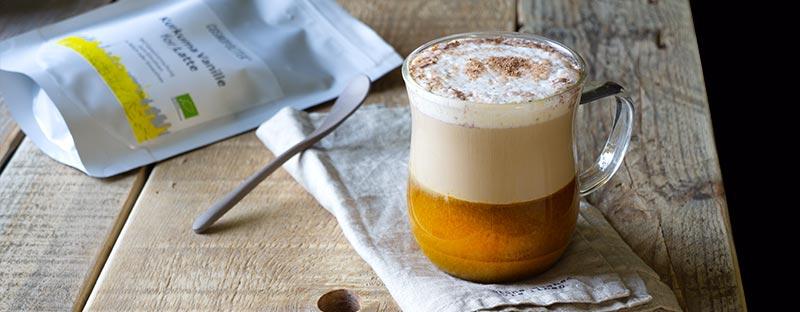 Kurkuma Latte - ein Genuss für deine Sinne